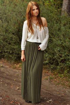 Love the Pretty Green long skirt <3