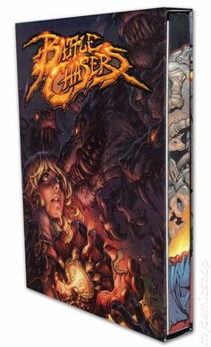 Battlechasers Anthology - the unfinished arcanapunk saga from Joe Madureira - definitely want to check this out if I can find it for a decent price...