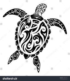 Maori style turtle tattoo stock vector art & more images of abstract Hawaiianisches Tattoo, Arm Band Tattoo, Body Art Tattoos, Tattoo Maori, Sleeve Tattoos, Guy Tattoos, Ocean Tattoos, Thai Tattoo, Tribal Animal Tattoos