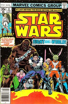Cover for Star Wars (Marvel, 1977 series) #8