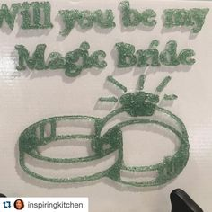 Something we liked from Instagram! A creative way to propose to this one special person in your life  Thank you @inspiringkitchen for taking this pictures of our print!  #MagicCandyFactory #magicUS #chicago #windycity // #veggie #vegan #yummy #candy // #3d #3dprinter #3dprinted #customized #3dcandy  #Repost @inspiringkitchen with @repostapp.  For anyone getting married and wanting to do something creative. This is a customized gummy candy made into messages at Dylan's Candy Bar…
