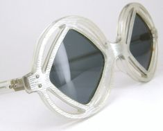 Vintage French 60s Space Age Sunglasses