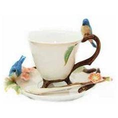 Pretty bird teacup.