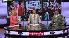 Doris Burke, Jalen Rose and Avery Johnson honor the return of Craig Sager.