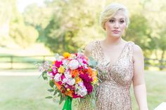 The cockscomb is especially great for fall brides