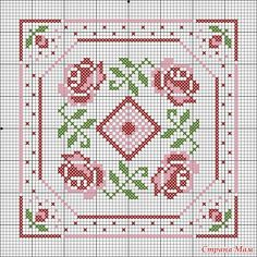 Designing Your Own Cross Stitch Embroidery Patterns - Embroidery Patterns Biscornu Cross Stitch, Cross Stitch Rose, Cross Stitch Borders, Cross Stitch Flowers, Cross Stitch Charts, Cross Stitch Designs, Cross Stitching, Cross Stitch Patterns, Hardanger Embroidery
