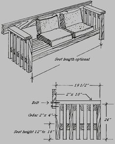 52 Outdoor Bench Plans, green wood rustic twig bench.  This one is for the church garden.