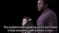 A powerful poem about race and gender shows us what we lose if we can't speak for ourselves.