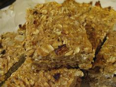 Wednesday is for baking; pumpkin protein bars - fitknitchick