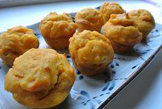 Mini pumpkin donut-muffins