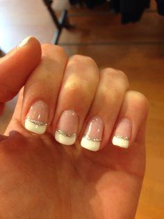 My wedding nails! 8/9/14
