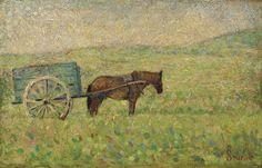 Georges Seurat, Attelage rural