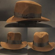 957ee1737f7a81 Just finished a Indiana Jones Raiders of the Lost Ark fedora. All indy hats  are