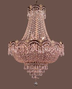 Classic Lighting 1855 RB CP Crystalique-Plus Crystal Cha.-Classic Lighting 1855 RB CP Crystalique-Plus Crystal Chandelier from the Regency II Collection - 60 Watt Light Bulb, Classic Lighting, Chandelier Lighting, Vintage Crystal Chandelier, Crystal Sconce, Chandeliers, Candelabra Bulbs, Beautiful Lights, Beautiful Pictures
