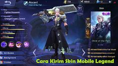 Mobile Legends Alucard Item Build and Skill Strategy Guide Alucard Mobile Legends, The Legend Of Heroes, Mobile Legend Wallpaper, Android Hacks, Demon Hunter, Wallpaper Gallery, Best Mobile, The Incredibles, Animation