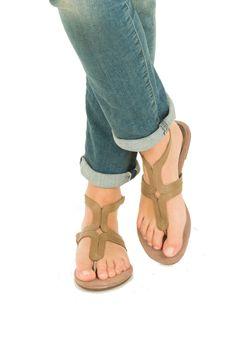 Leren sandalen Taipei  Maluo €43,90