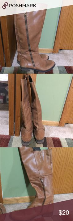 Steve Madden Smithe Boots These have been used but I still LOVE them. Still in good enough condition to wear, do have a few scuff marks on them. Steve Madden Shoes