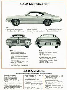 1971 Oldsmobile Cutlass 4-4-2