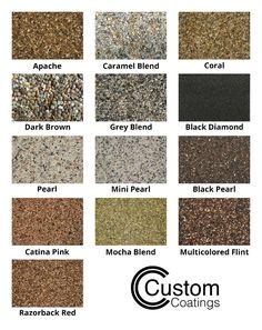 Epoxy Ideas Pebble Stone Epoxy Floors - Custom-made concrete floors - Garden stairs - .