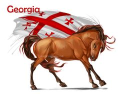 Horse Hetalia: Georgia by MUSONART