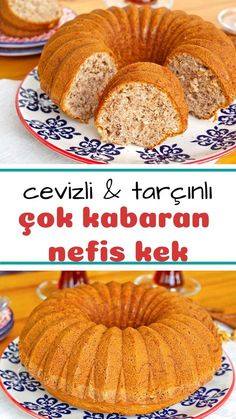 Cevizli Tarçınlı Kek (videolu) – Nefis Yemek Tarifleri Walnut Cinnamon Cake (with video) How to make a recipe? Here is a description of this recipe in the book of people and the photos of the experimenters. Delicious Cake Recipes, Best Cake Recipes, Cookie Recipes, Yummy Food, East Dessert Recipes, How To Make Cake, Food To Make, Cinnamon Cake, Cinnamon Recipes
