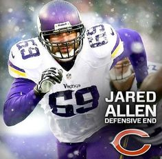 Jared Allen is now a Chicago Bear... 4 year deal!