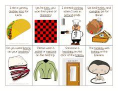 Articulation: K Sentence Flash Cards (Medial)