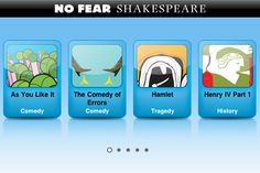 Apps for No Fear Shakespeare