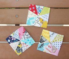 Paper Piecing Kaleidoscope Blocks