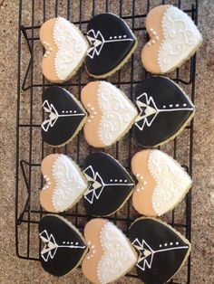 1 dozen wedding style sugar cookies with royal icing.