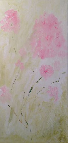 Original abstract acrylic painting One Of A Kind by JOYdaARTE, $150.00