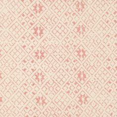 zazu in rose from kathryn ireland's summers in france collection #fabric #linen #pink