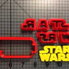 Star Wars Logo Cookie Cutter Set