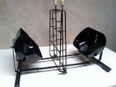 Bbq Grill, Barbecue, Grilling, Pig Roast, Rocket Stoves, Outdoor Cooking, Metal Art, Industrial Design, Shoe Rack