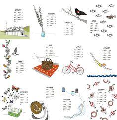 Calendar by Sloeginfizz