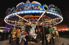 Columbus Commons 160 S. High Street Columbus $1 Carousel rides Mon-Fri, June–Sept 30 10a–7p Sat 11a-7p; Sun noon-5p