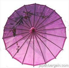 Japanese Chinese Umbrella Parasol 32in Purple 156-10  wanelo.com 4.15