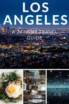 LA is such a large and exciting city. But if you're pressed for time, prioritizing can be difficult. We've got the ultimate 24 hour guide to Los Angeles with a curated list of what to do, where to eat, and what to see! | california travel, things to do in los angeles, los angeles travel, los angeles food #travelblogger #losangeles #unitedstates
