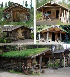 All sorts of stuff on survival cabins and survival, as well as an album of a man who made his own from scratch