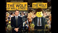 Lego, Premios Oscar, Oscar 2014, The Wolf of Wall Street