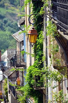Najac high Street by audi_insperation, via Flickr. France.