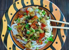 The Briny Lemon: Vegetable-Noodle Stir-Fry with Hot-and-Sour Sauce