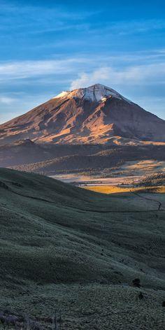 Popocatepetl Volcano, Mexico
