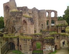 Roman Baths, Trier - Germany. One of the best places to visit when you are a sucker for (Roman) history.