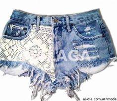 Shorts de Jeans primavera verano 2014 by Málaga