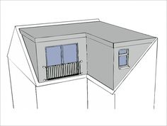 Pitched Roof Extension Ideas Angle Single Storey Side L Shaped Plans House Story. - House Plans, Home Plan Designs, Floor Plans and Blueprints Loft Conversion Extension, Loft Conversion Plans, Loft Conversion Bedroom, Roof Extension, Extension Ideas, Loft Conversions, Cottage Extension, Loft Dormer, L Shaped House Plans