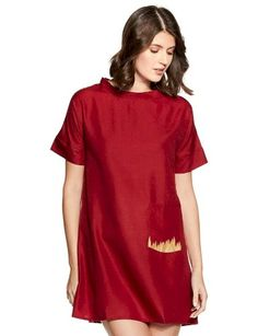 Care Instructions: hand wash Fit Type: Regular Material - Cotton A-line women western wear dress Short sleeves Knee length Care Instruction - Hand wash Western Wear Dresses, Western Wear For Women, Valentine Special, India Fashion, Short Sleeves, Short Sleeve Dresses, Cotton, T Shirt, Western Dresses