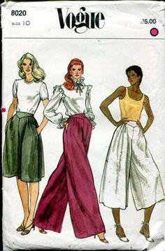 Great culottes or palazzo pants