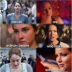 funny quotes about divergent vs hunger games - Google Search