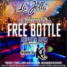 "🔥""#LAJOLLA NIGHTCLUB""🔥 ""FRIDAYS EXCLUSIVOS"" NOCHE LATINA'S EVERY FRIDAY 